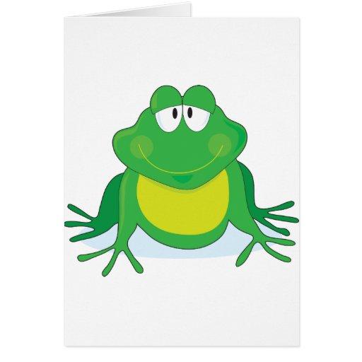 Froggie Tarjeta De Felicitación