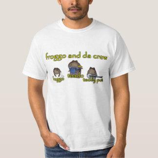 froggo y camiseta de la banda del equipo de DA Playera