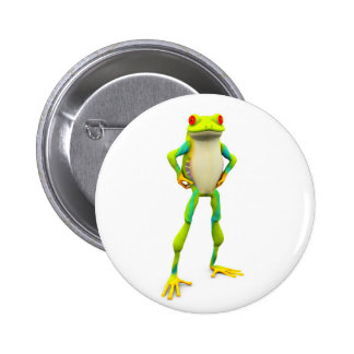 froggy2 2 inch round button