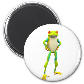 froggy2 2 inch round magnet