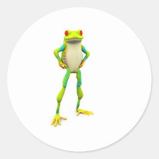 froggy2 classic round sticker