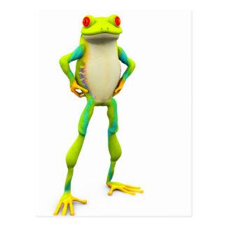 froggy2 postcard