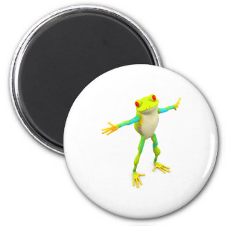 froggy 2 inch round magnet