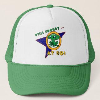 Froggy 50th Birthday Hat