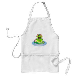 Froggy alegre * delantal