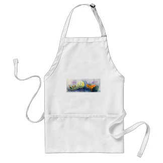 Froggy and Gourds Adult Apron