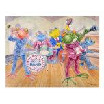 """Froggy Band"" Postcard Postales"