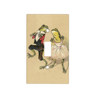 Froggy Cake Walk Light Switch Cover