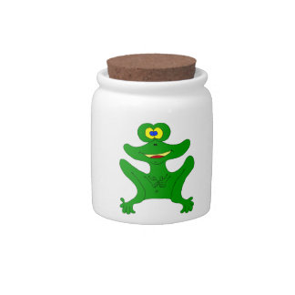 froggy candy jars