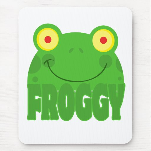 FROGGY CARTOON MOUSE PADS