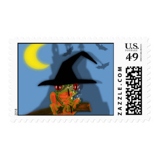 froggy cast a spell postage