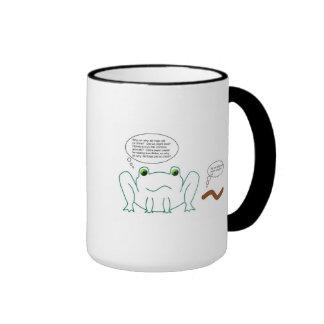 Froggy concerns ringer mug