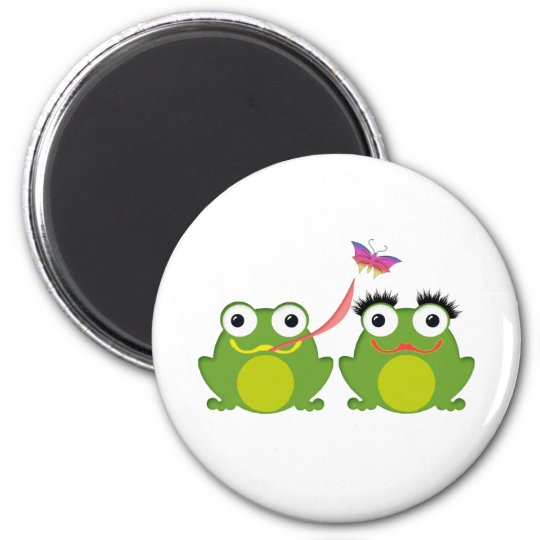 Froggy Couple Magnet