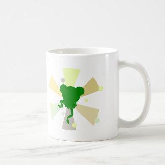 froggy dance classic white coffee mug