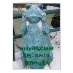 Froggy Daydream Card