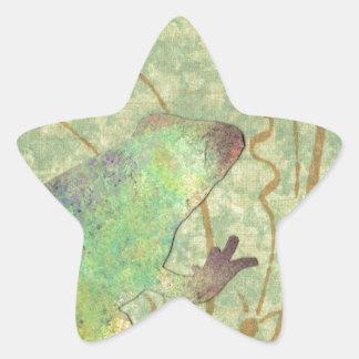 Froggy de Feelin Pegatina En Forma De Estrella