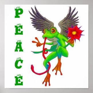 Froggy de la paz posters