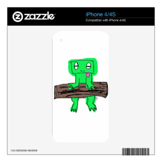 FROGGY DECALS FOR THE iPhone 4