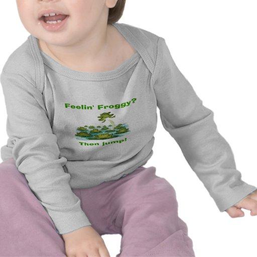 froggy del feelin camisetas