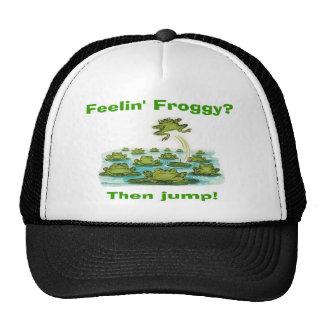 froggy del feelin gorro de camionero