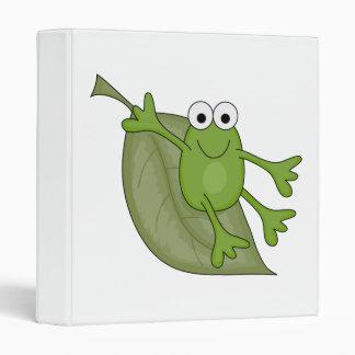 """froggy en la hoja carpeta 1"""""""