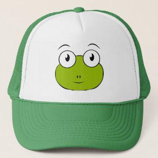 froggy face trucker hat