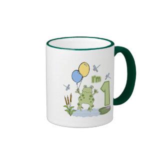 Froggy First Birthday Mugs