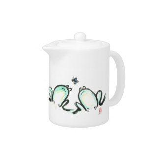 Froggy Get Together Teapot