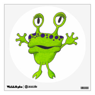 "Froggy ""Gop"" Wall Sticker"