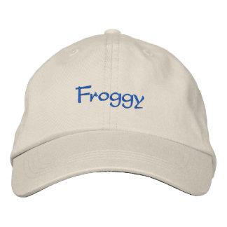 Froggy Gorra Bordada