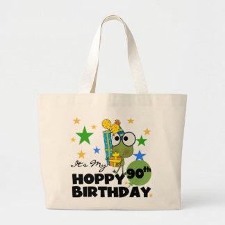 Froggy Hoppy 90th Birthday Tote Bag