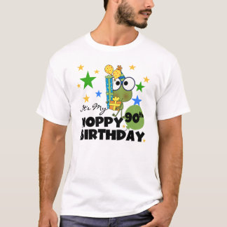 Froggy Hoppy 90th Birthday T-Shirt
