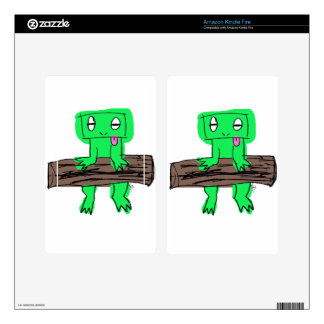 FROGGY KINDLE FIRE DECAL