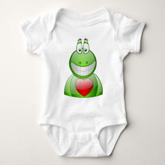 Froggy Love Baby Bodysuit