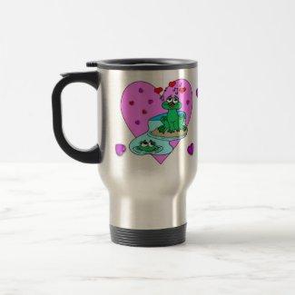 Froggy Love mug