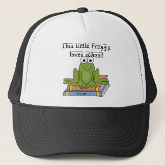 Froggy Loves School Tshirts and Gifts Trucker Hat