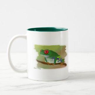 Froggy Morning Coffee Mug