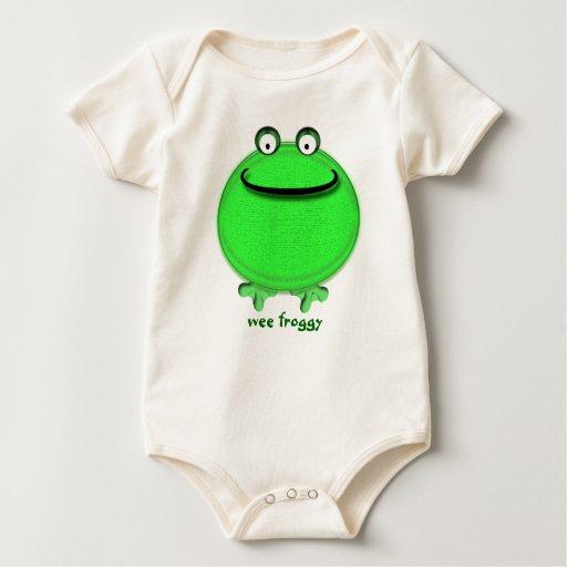 Froggy pequenito body de bebé