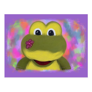 Froggy Post Card