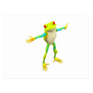 froggy postcard