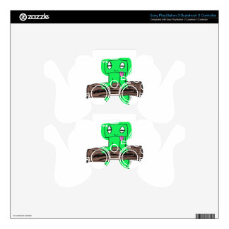 FROGGY PS3 CONTROLLER DECAL