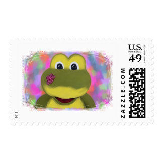 Froggy Stamp