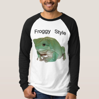 Froggy Style - White's Tree Frog T-Shirt