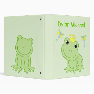 Froggy Tales Frog Baby Photo Album Scrapbook Binder