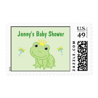 Froggy Tales Frog Postage Stamp