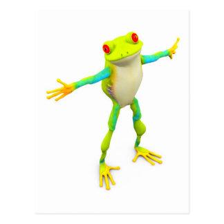 froggy tarjeta postal