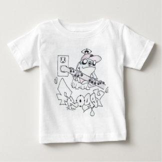 Froggy the hero baby T-Shirt