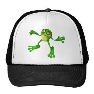 Froggy verde lindo gorro de camionero