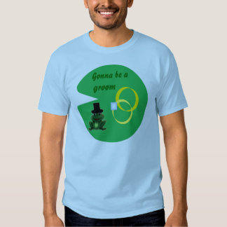 Froggy Wedding / Lily Pad - Gonna be a Groom T-Shirt