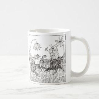 Froggy Went A-Courtin' Classic White Coffee Mug